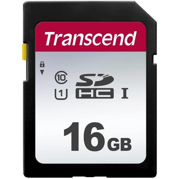 【送料無料】トランセンド 16GB SDHCカード UHS-1 TS16GSDC300S AV・デジモノ パソコン・周辺機器 USBメモリ・SDカード・メモリカード・フラッシュ SDカード レビュー投稿で次回使える2000円クーポン全員にプレゼント