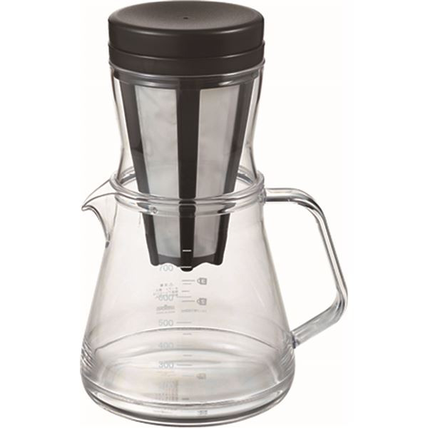 【送料無料】コーヒーサーバーストロン750(850ml) 2Wayドリッパーセット ブラック TW-3760 家電 キッチン家電 コーヒーメーカー レビュー投稿で次回使える2000円クーポン全員にプレゼント