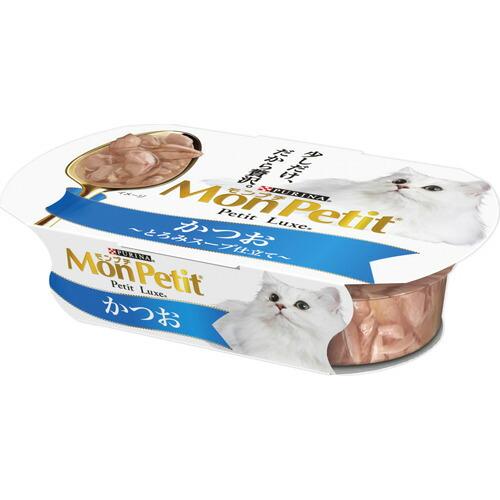 5000円以上送料無料 モンプチ プチリュクスカップ かつお 57g ペット用品 猫用食品(フード・おやつ) キャットフード(猫缶・パウチ・一般食) レビュー投稿で次回使える2000円クーポン全員にプレゼント
