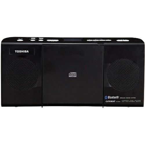 5000円以上送料無料 東芝 CDラジオ Bluetooth対応 ブラック TY-CW26(K) 家電 オーディオ機器 コンポ・ラジカセ レビュー投稿で次回使える2000円クーポン全員にプレゼント