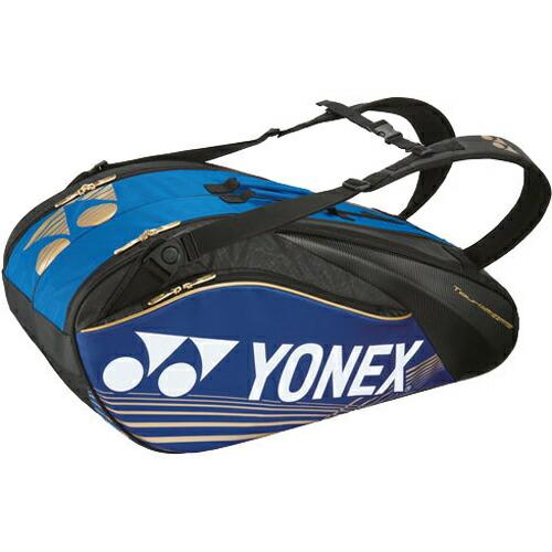 スポーツ 球技用品 テニス・バドミントン YONEX(ヨネックス) PRO SERIES ラケットバック6 リュック付き(ラケット6本用) ブルー BAG1602R