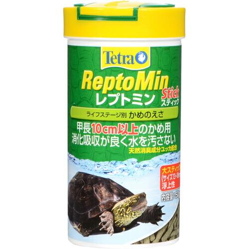 ペット用品 爬虫類・両生類用品 爬虫類・両生類フード テトラ レプトミン スティック 大 50g