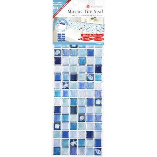 DIY・ガーデン 補修用品 補修用品 Dream Sticker タイルシール ブルー ALT-4