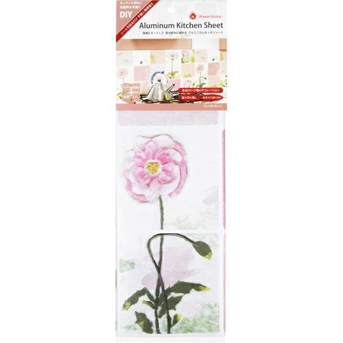 DIY・ガーデン 補修用品 補修用品 Dream Sticker キッチンシート ピンク ALC-4