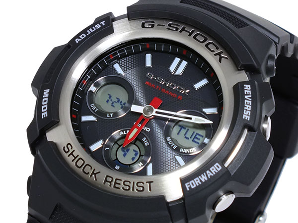 カシオ CASIO Gショック G-SHOCK 電波 ソーラー マルチバンド5 腕時計 AWG-M100-1A 【腕時計 海外インポート品】返品可 レビュー投稿で次回使える2000円クーポン全員にプレゼント