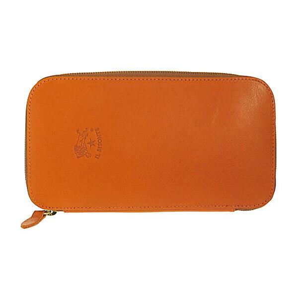 イルビゾンテ IL BISONTE ユニセックス 長財布 C0442-P-166 オレンジ 【財布・小物 財布】返品可 レビュー投稿で次回使える2000円クーポン全員にプレゼント