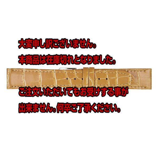 ミモザ MIMOSA 腕時計バンド 替えベルト カーフ CP-CM 20-18 キャメル/ゴールド 【腕時計 腕時計関連用品】