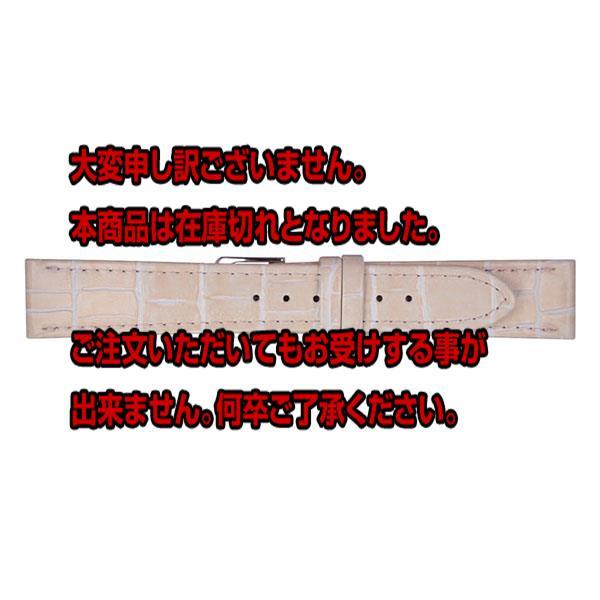 ミモザ MIMOSA 腕時計バンド 替えベルト カーフ CP-P 20-18 ベビーピンク/シルバー 【腕時計 腕時計関連用品】