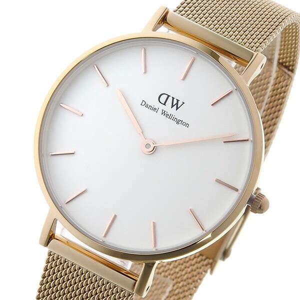 ダニエル ウェリントン クラシックペティート メルローズ/ホワイト レディース 32mm 腕時計 DW00100163 【腕時計 海外インポート品】返品可 レビュー投稿で次回使える2000円クーポン全員にプレゼント