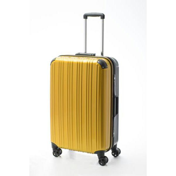 アクタス ACTUS ツートン フレームハードL 旅行 トラベル スーツケース 74-20267 イエロー 【バッグ スーツケース】返品可 レビュー投稿で次回使える2000円クーポン全員にプレゼント