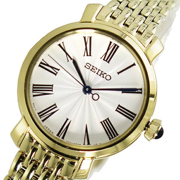 セイコー SEIKO クオーツ レディース 腕時計 SRZ498P1 ホワイト 【腕時計 海外インポート品】返品可 レビュー投稿で次回使える2000円クーポン全員にプレゼント