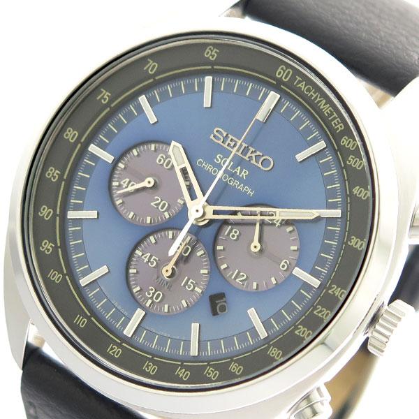 セイコー SEIKO クオーツ メンズ 腕時計 SSC625P1 ブルー 【腕時計 海外インポート品】返品可 レビュー投稿で次回使える2000円クーポン全員にプレゼント
