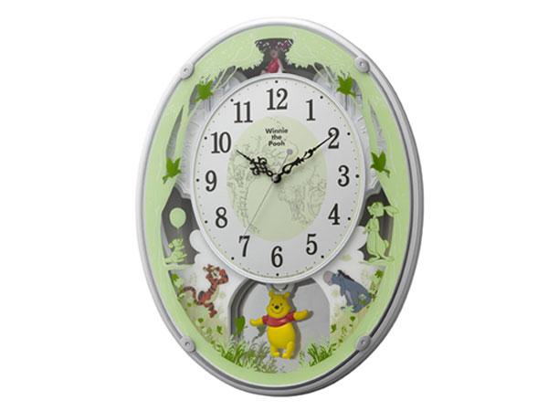 シチズン CITIZEN くまのプーさんM523 掛け時計 4MN523MC03 【インテリア 時計】返品可 レビュー投稿で次回使える2000円クーポン全員にプレゼント