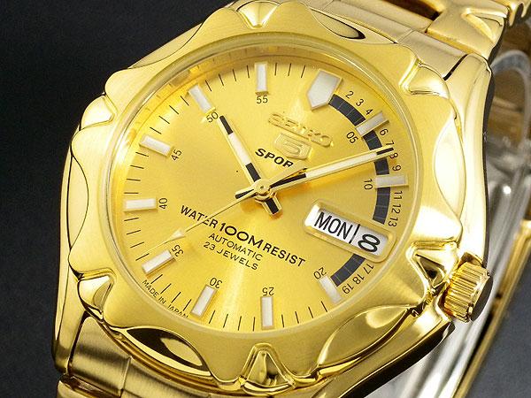 セイコー SEIKO セイコー5 スポーツ 5 SPORTS 日本製 自動巻き 腕時計 SNZ450J1 【腕時計 海外インポート品】返品可 レビュー投稿で次回使える2000円クーポン全員にプレゼント