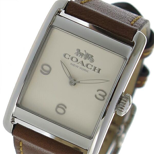 コーチ COACH クオーツ レディース 腕時計 14502829 アイボリー 【腕時計 海外インポート品】返品可 レビュー投稿で次回使える2000円クーポン全員にプレゼント