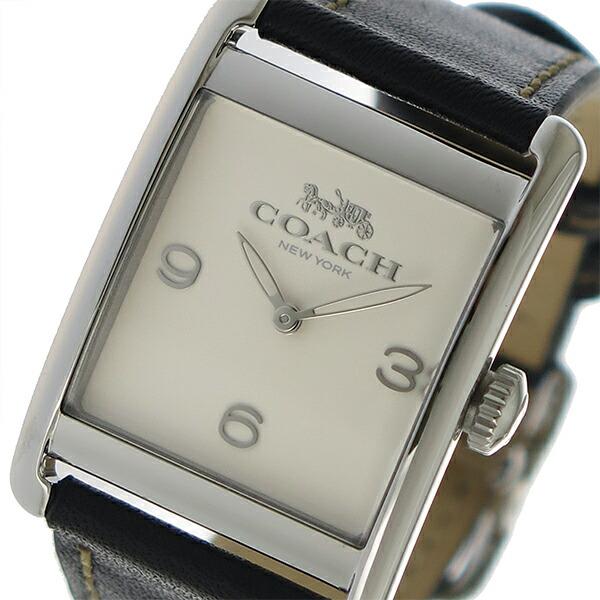 コーチ COACH クオーツ レディース 腕時計 14502830 アイボリー 【腕時計 海外インポート品】返品可 レビュー投稿で次回使える2000円クーポン全員にプレゼント