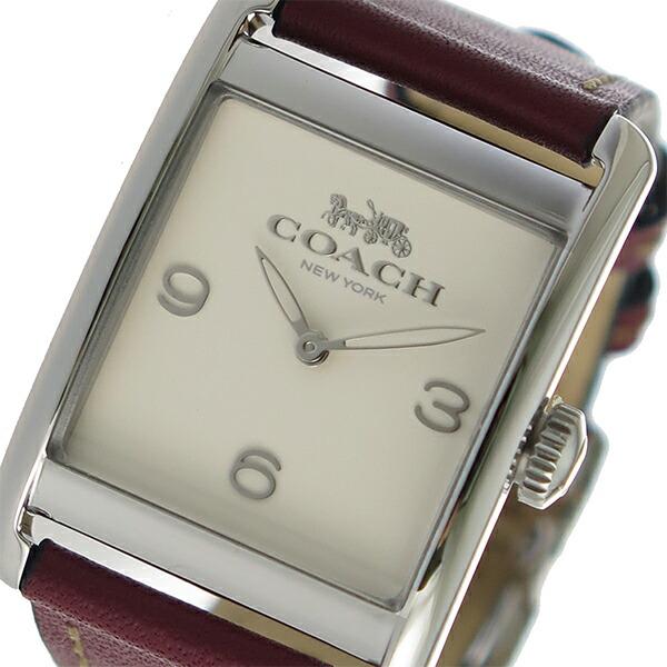 コーチ COACH クオーツ レディース 腕時計 14502832 アイボリー 【腕時計 海外インポート品】返品可 レビュー投稿で次回使える2000円クーポン全員にプレゼント