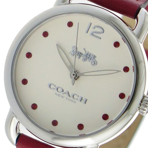 コーチ COACH デランシー クオーツ レディース 腕時計 14502905 ホワイト 【腕時計 海外インポート品】返品可 レビュー投稿で次回使える2000円クーポン全員にプレゼント
