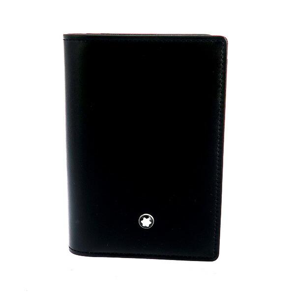 モンブラン MONTBLANC マイスターシュテュック 名刺入れ 7167 ブラック 【財布・小物 カードケース】返品可 レビュー投稿で次回使える2000円クーポン全員にプレゼント