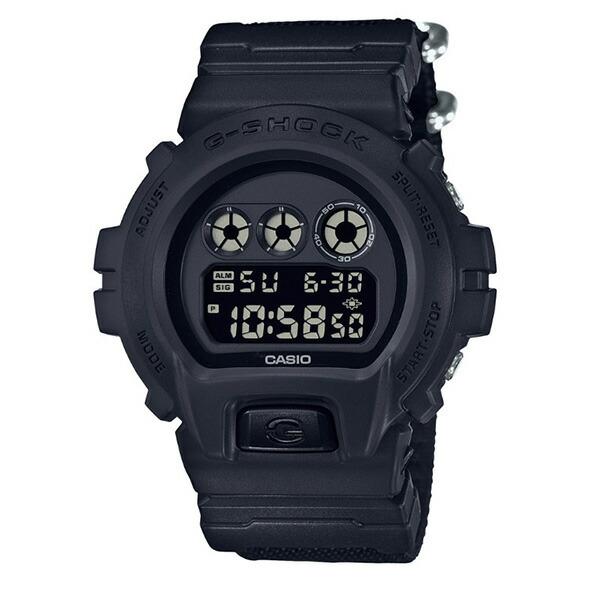 カシオ CASIO Gショック G-SHOCK ミリタリーブラック クオーツ メンズ クロノ 腕時計 DW-6900BBN-1 ブラック 【腕時計 海外インポート品】返品可 レビュー投稿で次回使える2000円クーポン全員にプレゼント