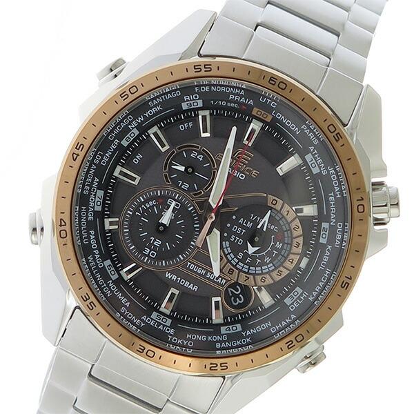 カシオ CASIO エディフィス EDIFICE メンズ 腕時計 EQS-500DB-1A2 ブラック 【腕時計 海外インポート品】返品可 レビュー投稿で次回使える2000円クーポン全員にプレゼント