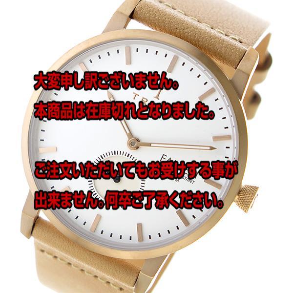 トリワ TRIWA クオーツ ユニセックス 腕時計 FALKEN FAST101-CL010614 ホワイト / ベージュ 【腕時計 海外インポート品】返品可 レビュー投稿で次回使える2000円クーポン全員にプレゼント