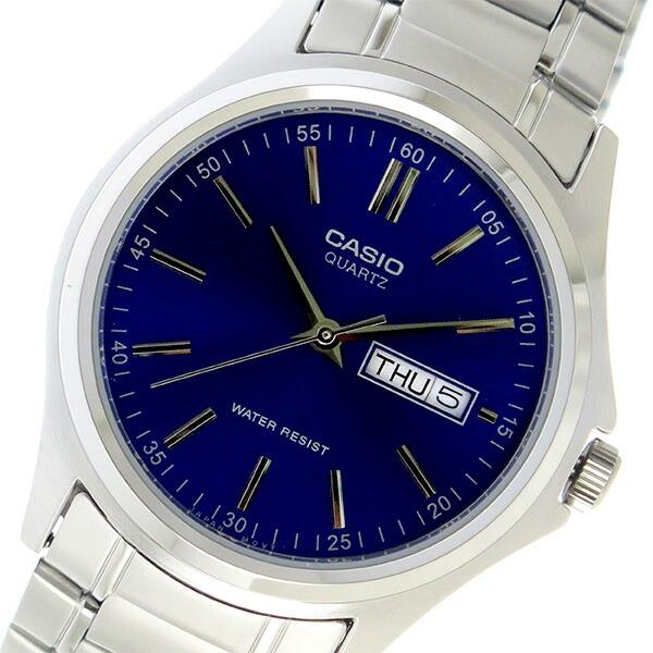 【希少逆輸入モデル】 カシオ CASIO クオーツ メンズ 腕時計 MTP-1239D-2ADF ブルー 【腕時計 国内正規品】