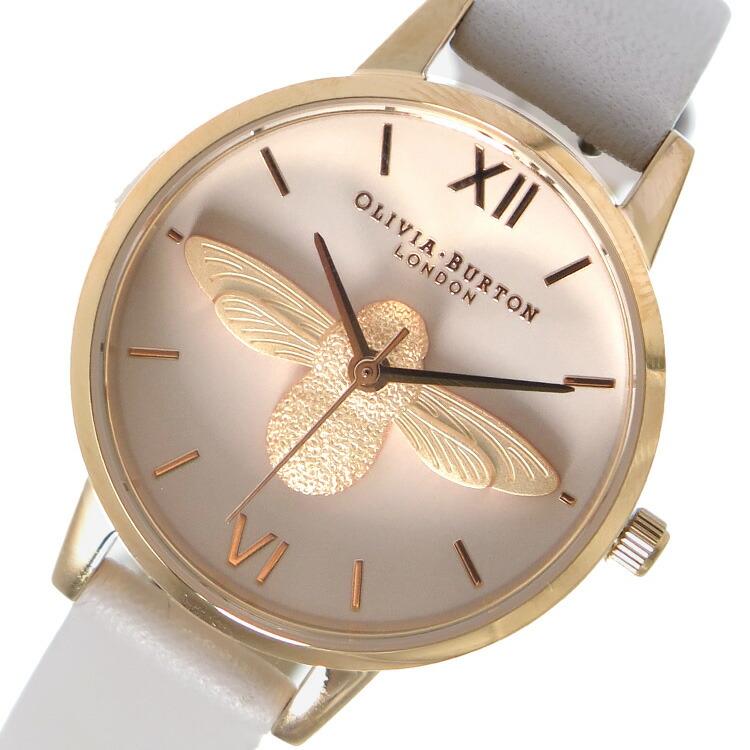 オリビアバートン OLIVIA BURTON 腕時計 OB16AM85 ライトベージュ 【腕時計 海外インポート品】返品可 レビュー投稿で次回使える2000円クーポン全員にプレゼント