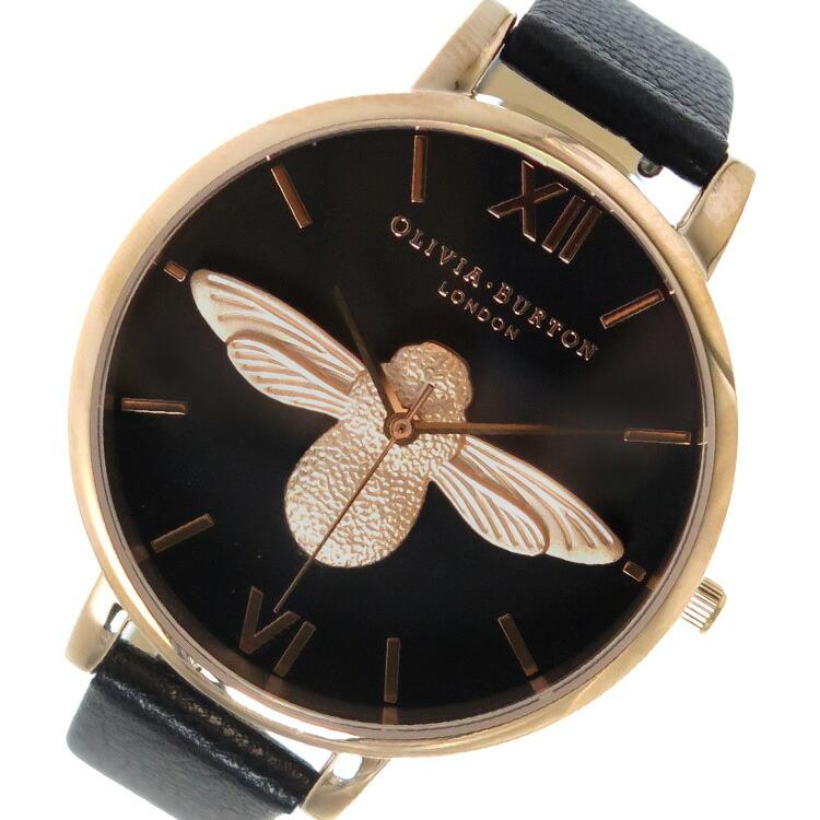オリビアバートン OLIVIA BURTON 腕時計 OB16AM98 ブラック 【腕時計 海外インポート品】返品可 レビュー投稿で次回使える2000円クーポン全員にプレゼント
