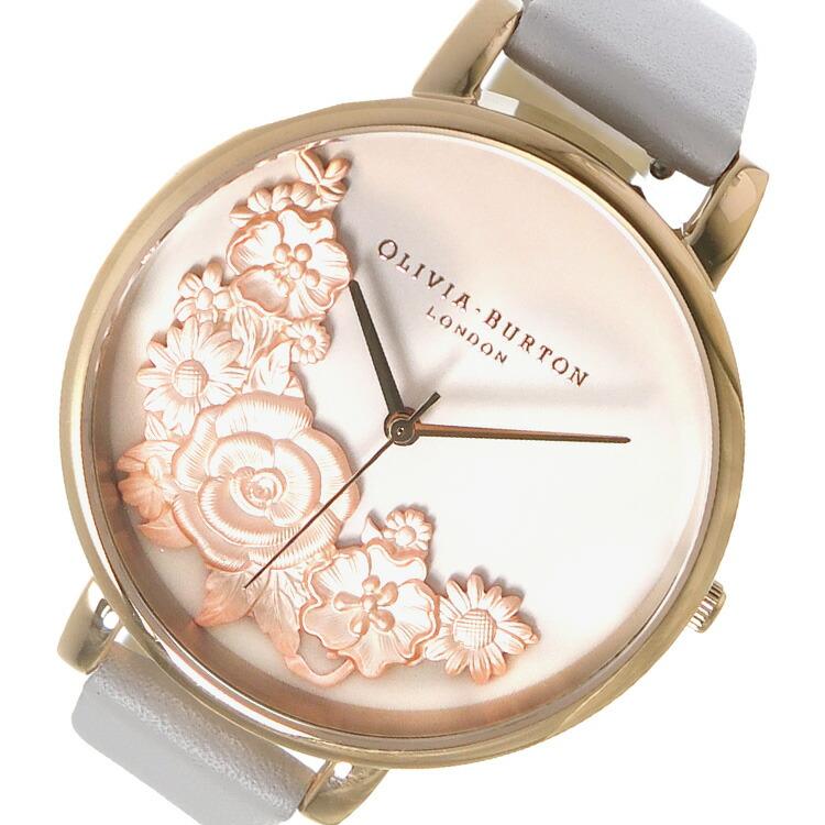 オリビアバートン OLIVIA BURTON 腕時計 OB16FS85 ライトベージュ 【腕時計 海外インポート品】返品可 レビュー投稿で次回使える2000円クーポン全員にプレゼント