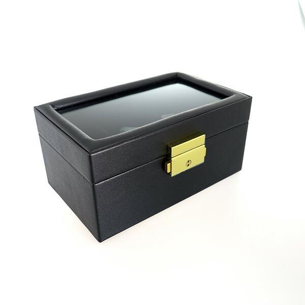 ペアウォッチ アクセサリーボックス 鍵付き PAIR-BOX ブラック 【腕時計 腕時計関連用品】