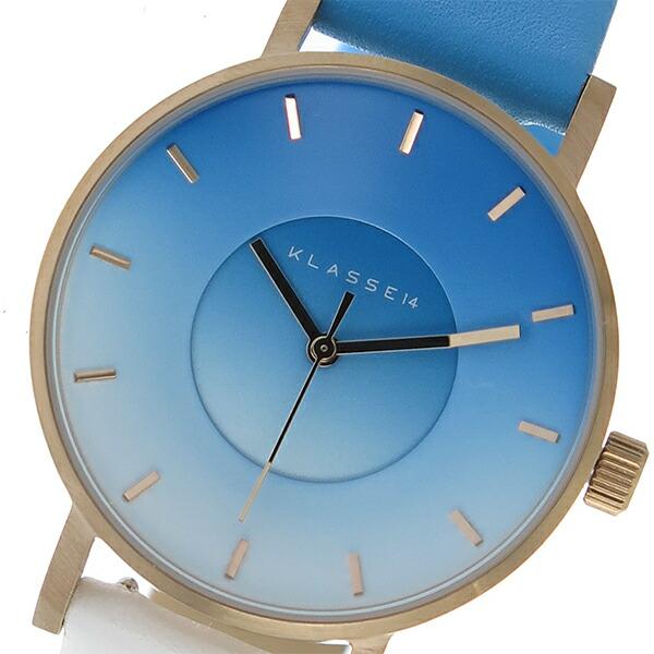 クラス14 KLASSE14 クオーツ レディース 腕時計 SK17RG001W ライトブルー 【 】返品可 レビュー投稿で次回使える2000円クーポン全員にプレゼント