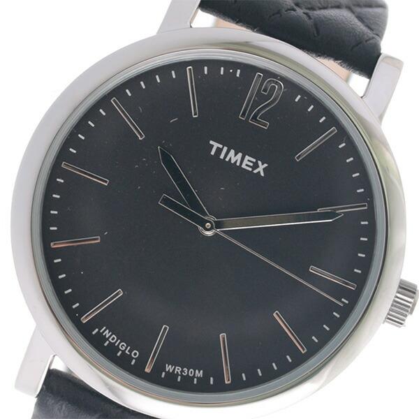 タイメックス TIMEX クオーツ メンズ 腕時計 TW2P71100 ブラック 【腕時計 海外インポート品】返品可 レビュー投稿で次回使える2000円クーポン全員にプレゼント