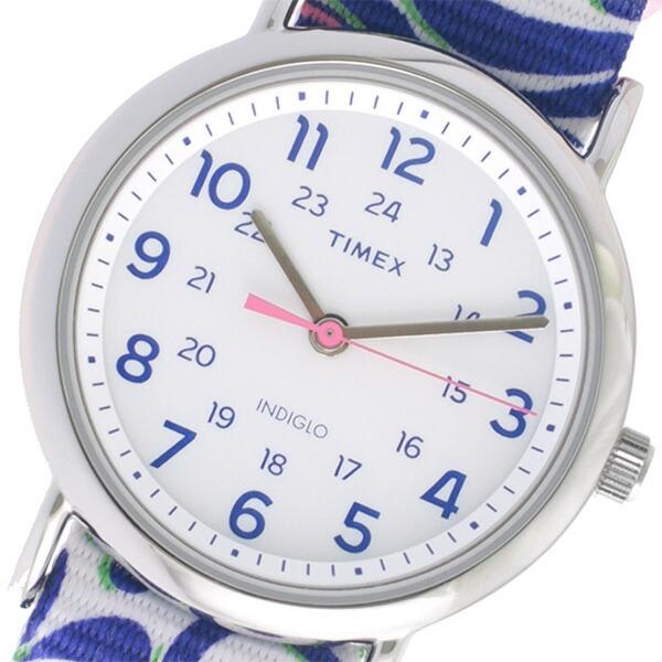 タイメックス TIMEX クオーツ レディース 腕時計 TW2P90200 ホワイト 【腕時計 海外インポート品】