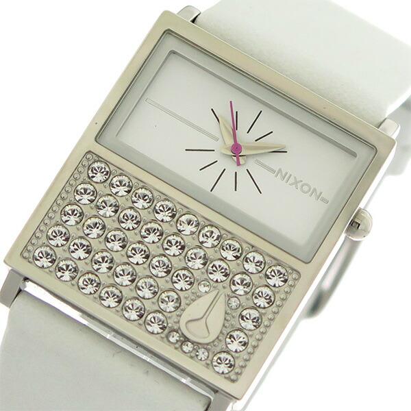 ニクソン NIXON クオーツ レディース 腕時計 A576-710 ホワイト/ホワイト 【腕時計 海外インポート品】返品可 レビュー投稿で次回使える2000円クーポン全員にプレゼント