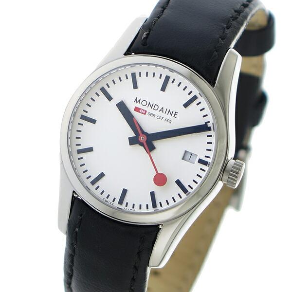 モンディーン MONDAINE クオーツ レディース 腕時計 A6293034111SBBXL ホワイト 【腕時計 海外インポート品】返品可 レビュー投稿で次回使える2000円クーポン全員にプレゼント