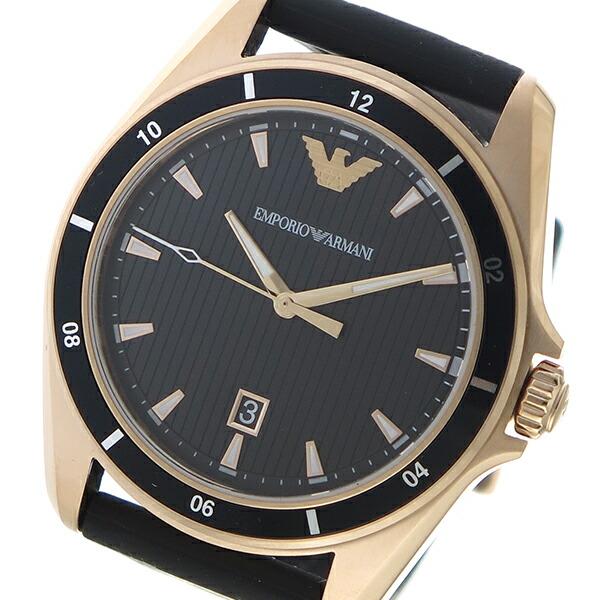 エンポリオアルマーニ EMPORIO ARMAN クオーツ メンズ 腕時計 AR11101 ブラック 【腕時計 海外インポート品】返品可 レビュー投稿で次回使える2000円クーポン全員にプレゼント