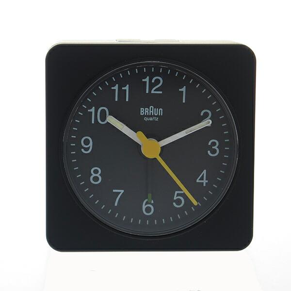 ブラウン BRAUN 置き時計 目覚まし時計 アラームクロック BNC019BK ブラック 【インテリア 時計】