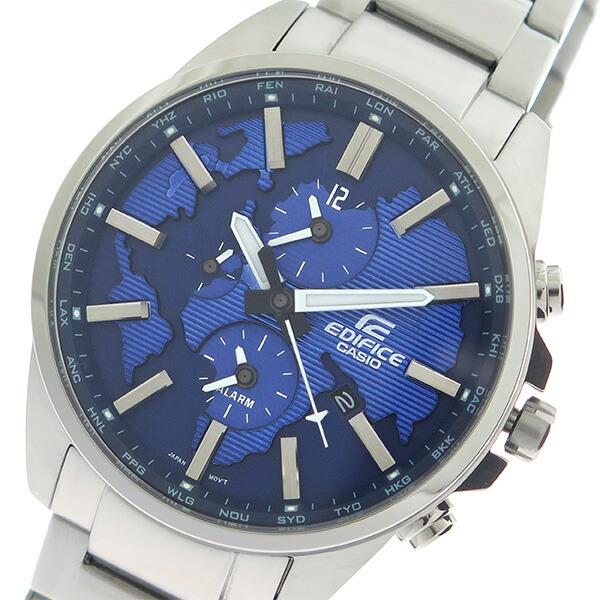 カシオ CASIO エディフィス EDIFICE クロノ クオーツ メンズ 腕時計 ETD-300D-2A ブルー/シルバー 【腕時計 海外インポート品】返品可 レビュー投稿で次回使える2000円クーポン全員にプレゼント