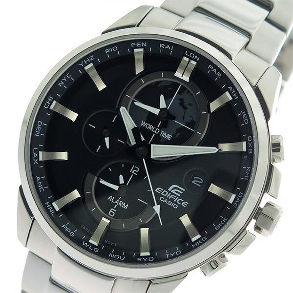 カシオ CASIO エディフィス EDIFICE クロノ クオーツ メンズ 腕時計 ETD-310D-1A ブラック/シルバー 【腕時計 海外インポート品】返品可 レビュー投稿で次回使える2000円クーポン全員にプレゼント