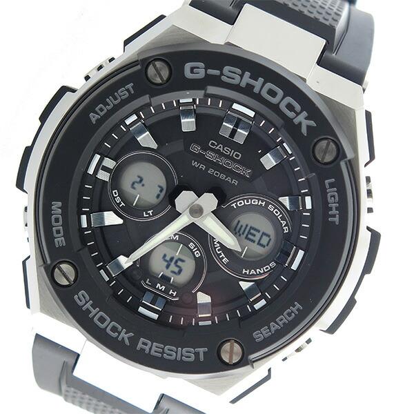 カシオ CASIO Gショック G-SHOCK Gスチール G-STEEL クオーツ メンズ 腕時計 GST-S300-1A ブラック 【腕時計 海外インポート品】返品可 レビュー投稿で次回使える2000円クーポン全員にプレゼント