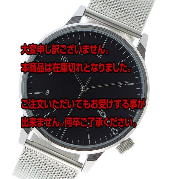 コモノ KOMONO Winston Royale クオーツ メンズ 腕時計 KOM-W2357 ブラック 【腕時計 海外インポート品】返品可 レビュー投稿で次回使える2000円クーポン全員にプレゼント