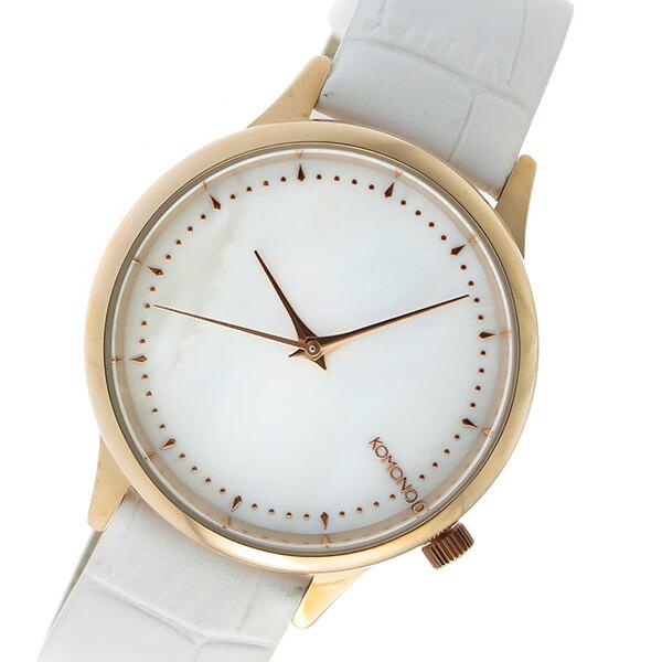 コモノ KOMONO Estelle Monte Carlo クオーツ レディース 腕時計 KOM-W2700 ホワイトシェル 【腕時計 海外インポート品】返品可 レビュー投稿で次回使える2000円クーポン全員にプレゼント