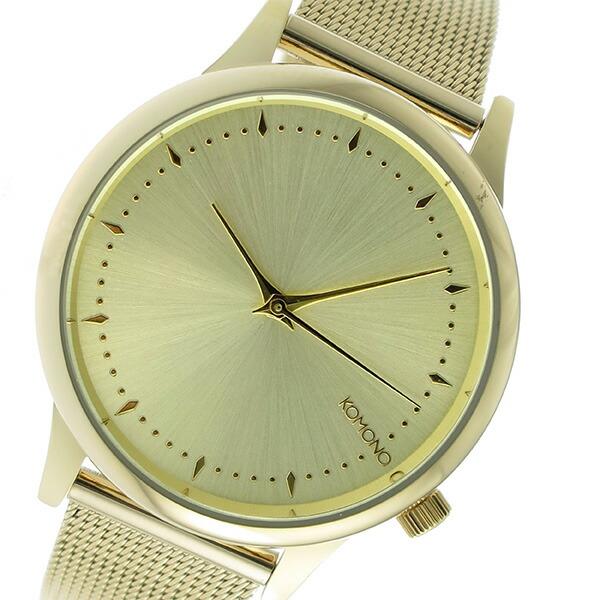 コモノ KOMONO Estelle Royale クオーツ レディース 腕時計 KOM-W2861 ゴールド 【腕時計 海外インポート品】返品可 レビュー投稿で次回使える2000円クーポン全員にプレゼント