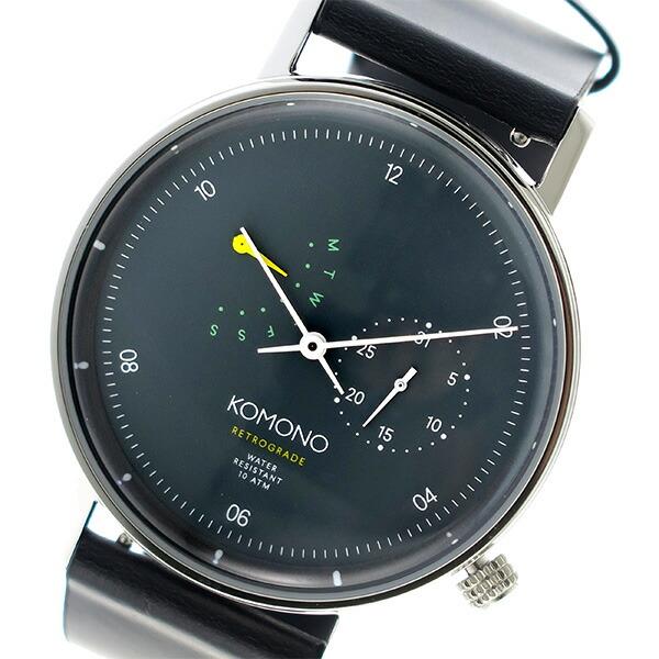 コモノ KOMONO Walther クオーツ ユニセックス 腕時計 KOM-W4031 グレー 【腕時計 海外インポート品】返品可 レビュー投稿で次回使える2000円クーポン全員にプレゼント