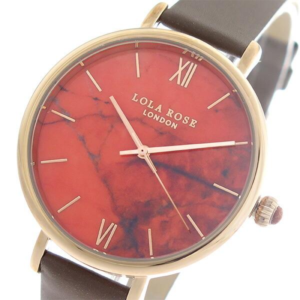 ローラローズ LOLA ROSE ファイヤーオレンジマグネサイト FireOrangeMagnesite クオーツ ユニセックス 腕時計 LR2018 オレンジ/ブラウン 【腕時計 海外インポート品】返品可 レビュー投稿で次回使える2000円クーポン全員にプレゼント