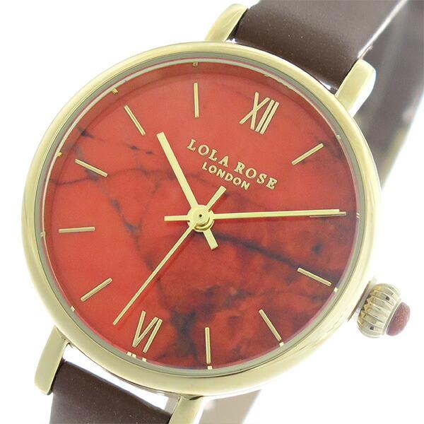 ローラローズ LOLA ROSE ファイヤーオレンジマグネサイト FireOrangeMagnesite クオーツ レディース 腕時計 LR2034 オレンジ/ブラウン 【腕時計 海外インポート品】返品可 レビュー投稿で次回使える2000円クーポン全員にプレゼント