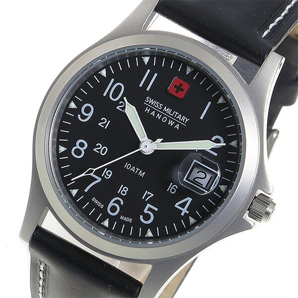 スイスミリタリー SWISS MILITARY クオーツ ユニセックス 腕時計 ML-5 ブラック 【腕時計 海外インポート品】返品可 レビュー投稿で次回使える2000円クーポン全員にプレゼント