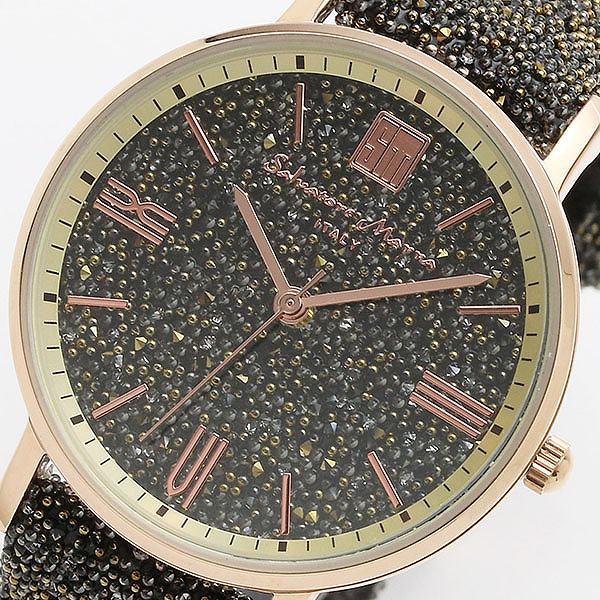 サルバトーレマーラ SALVATORE MARRA 替えベルト付き クオーツ レディース 腕時計 SM18115-PGBR ブラウン/ブラウン 【腕時計 低価格帯ウォッチ】返品可 レビュー投稿で次回使える2000円クーポン全員にプレゼント