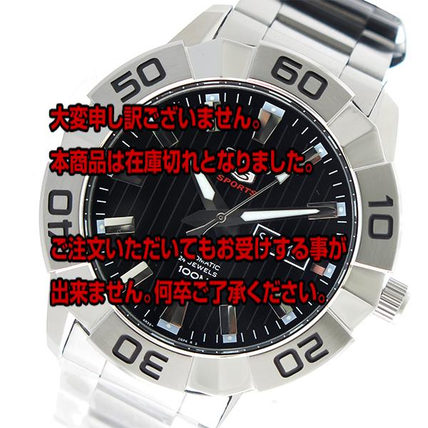 セイコー SEIKO セイコー5 SEIKO5 自動巻き メンズ 腕時計 SRPA51K1 ブラック 【腕時計 海外インポート品】返品可 レビュー投稿で次回使える2000円クーポン全員にプレゼント